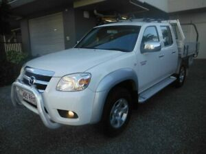 2010 Mazda BT-50 BT50 White 5 Speed Manual Dual Cab Kedron Brisbane North East Preview