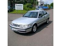 Saab 9-3 2.0 T 3dr 1 OWNERS (Doctor) FULL HISTORY