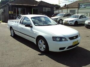 2006 Ford Falcon BF XL (LPG) White 4 Speed Auto Seq Sportshift Utility Punchbowl Canterbury Area Preview