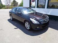 2011 Infiniti G25 Sedan Luxury(REDUCED!) only $179 bi-weekly!