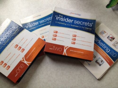 The Insider Secrets to Marketing Your Business on the Internet BKs 1&2, 6 Disks