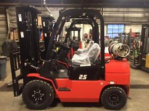 NEW 2017 EP CPQD25N FORKLIFT