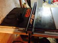 3HP King Industrial Cabinet Saw w/ Tru rip fence