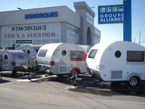ROULOTTE CAMPING PETIT VEHICULE