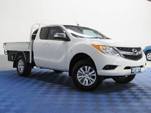 2012 Mazda BT-50 XTR (4x4) White 6 Speed Manual Freestyle Utility Morley Bayswater Area Preview