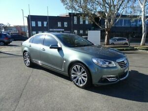 2014 Holden Calais VF MY14 V Prussian Steel 6 Speed Sports Automatic Sedan