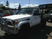 1988 Toyota Landcruiser HJ75 HJ75 White Manual Cab Chassis Greenslopes Brisbane South West Preview