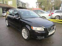 VOLVO V50 1.6 D DRIVE SE LUX 5d 109 BHP (black) 2009
