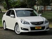 2009 Subaru Liberty B5 MY10 2.5i Sports Lineartronic AWD White 6 Speed Constant Variable Sedan Melrose Park Mitcham Area Preview