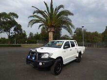 2008 Toyota Hilux KUN26R MY08 SR White 5 Speed Manual 4D UTILITY Cabramatta Fairfield Area Preview
