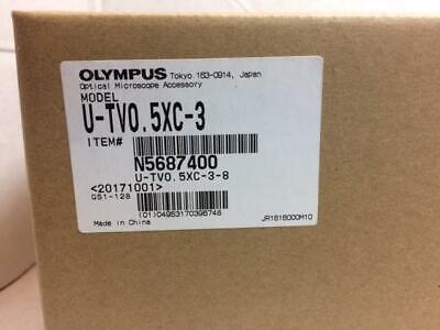 New Olympus U-tv0.5xc-3 Camera Adapterolympus U-tlu Lens For Bxix Microscope