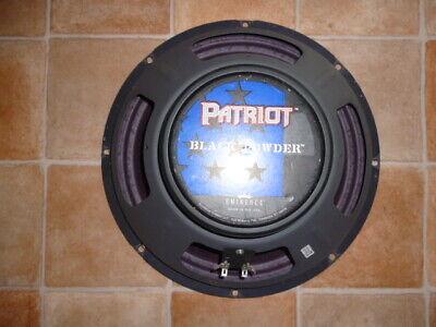 Eminence Patriot Black Powder Speaker 8 Ohm 75W Metal Gitarren Lautsprecher POW for sale  Shipping to Nigeria