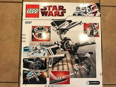 New! LEGO Star Wars Tie Defender (8087) - Sealed, NIB, Rare!