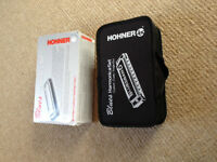 Hohner Bluesband Harmonicas in Case New Unused