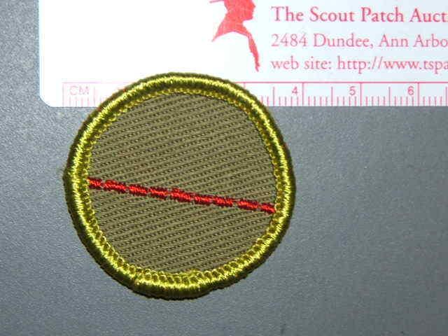 Boy Scout Merit Badge Salesmanship circa