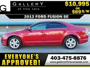 2012 Ford Fusion SE $89 bi-weekly APPLY NOW DRIVE NOW