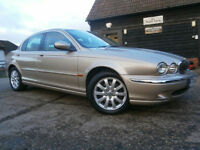 0303 JAGUAR X-TYPE 2.5 V6 4X4 SE AUTOMATIC CHAMPAGNE MET SAND LEATHER INTERIOR