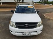 2006 Toyota Hilux TGN16R MY07 Workmate 4x2 White 5 Speed Manual Cab Chassis Gepps Cross Port Adelaide Area Preview