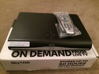 SKY + HD Box - 6 Months Old - Built in Wireless - With Remote