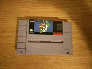 SNES - Starfox and Super Mario World
