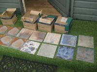 surplus ceramic floor or wall tiles