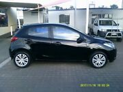 2008 Mazda 2 DE Neo Black 5 Speed Manual Hatchback Coopers Plains Brisbane South West Preview