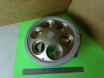 Microscope Part Reichert Polylite Nosepiece Assembly Without Optics 84-a-26