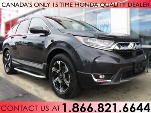 2018 Honda CR-V TOURING | RUNNING BOARDS | NO ACCIDENTS