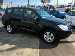 2012 Toyota RAV4 ACA33R 08 Upgrade CV (4x4) Black 4 Speed Automatic Wagon Sandgate Newcastle Area Preview