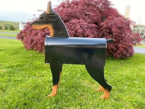 Dog Breed Mailbox - Doberman