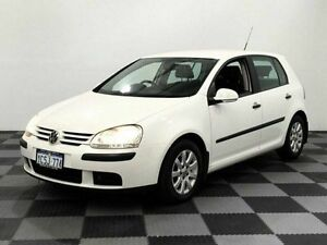 2007 Volkswagen Golf V MY07 Comfortline DSG White 6 Speed Sports Automatic Dual Clutch Hatchback Edgewater Joondalup Area Preview