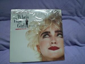 Madonna Who's That Girl vinyl LP