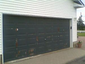 Garage Door Assembly with all Accessories - Complete