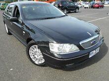 2003 Ford Fairlane BA Ghia Black 4 Speed Automatic Sedan Maidstone Maribyrnong Area Preview