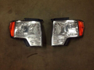 ford f-150 2009 -2014 lumière avant, head lights, head lamps