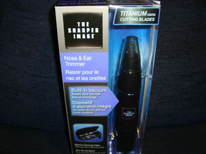 """THE SHARPER IMAGE NOSE&EAR TRIMMER """"""""NEW"""" West Island Greater Montréal image 2"""