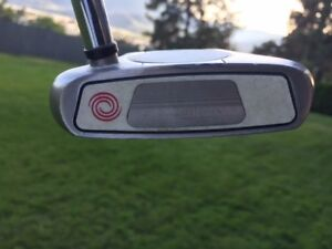Left Handed Odyssey 2 Ball Putter