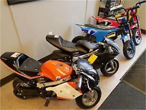 Electric pocket bike 3 speeds On  CHRISTMAS Sale $499!!!!