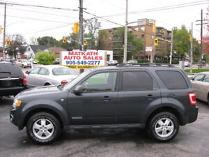 **2008 Ford Escape XLT** Front Wheel drive, Certified & E-tested