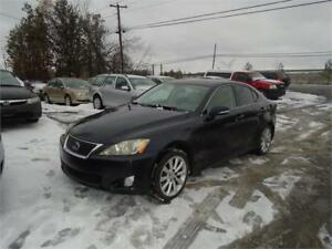 "2009 Lexus IS 250 ""AWD""-ONLY 118,000 KM-EXTRA CLEAN-RARE FIND!"