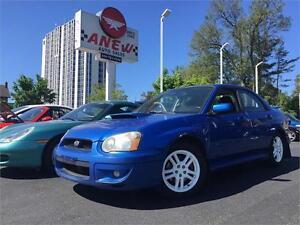 2004 Subaru Impreza WRX w/moonroof turbo service records