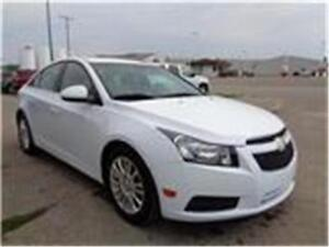 2012 Chev Cruze w/1SA - NEED FINANCING? UR APPROVED! APPLY NOW!