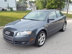 SOLD -----2007 AUDI A4 2.0T / LEATHER  / ROOF / 6SPEED / QUATTRO