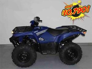 2017 Yamaha Grizzly EPS Steel Blue