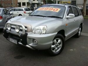 2005 Hyundai Santa Fe 05 Update (4x4) Silver 4 Speed Automatic Wagon Essendon North Moonee Valley Preview