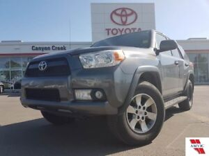 2012 Toyota 4Runner SR5 V6/CLEAN CARPROOF/DEALER MAINTAINED/LEAT