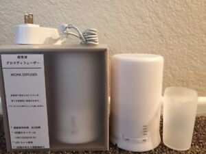 MUJI Aroma Diffuser 11SS ultrasonic waves fragrance with romance warm light