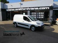 2011 Peugeot Partner 850 S 1.6HDi 90ps E/Pack Internal Racking Diesel white Manu