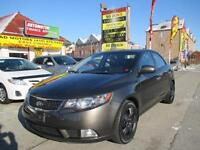 2011 Kia Forte  SX LEATHER  AUTO LOAD 76KM- APPROVED FINANCING!