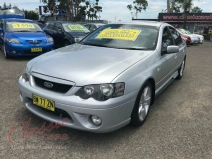 2007 Ford Falcon BF MkII XR6 Silver 4 Speed Auto Seq Sportshift Sedan Lansvale Liverpool Area Preview